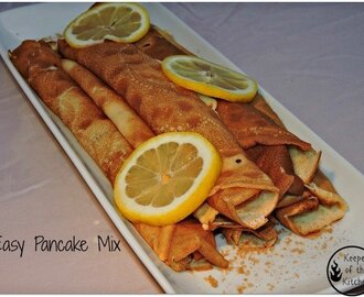 Quick Pancake Mix Recipe
