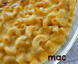 MAC AND CHEESE O MACARRONES CON QUESO