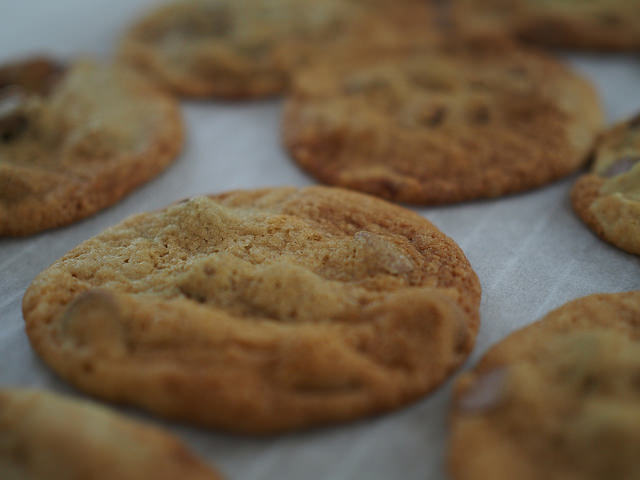 the most delicious choc chip cookies in the thermomix