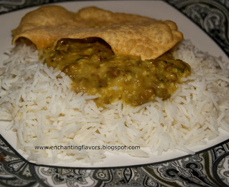 Trivandrum Style Paripp Curry / Green gram curry