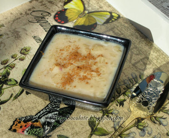 Sweet rice pudding