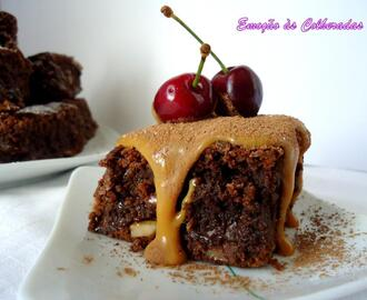 Brownies com Snickers