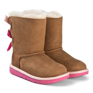 UGG Bailey Bow II Stövlar Rosa och Chestnut 30 (UK 12 / US 13)
