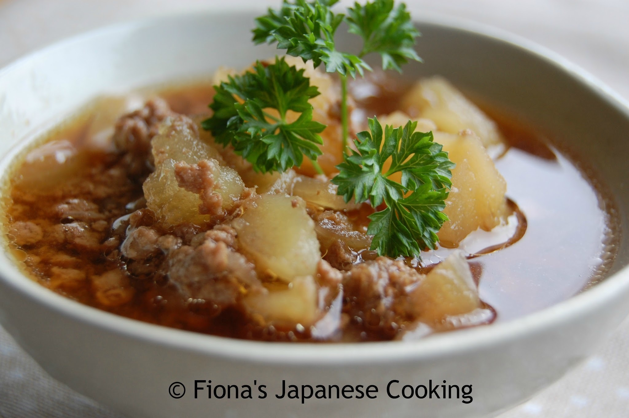 NIKUJAGA - JAPANESE STYLE POTATO AND BEEF STEW RECIPE