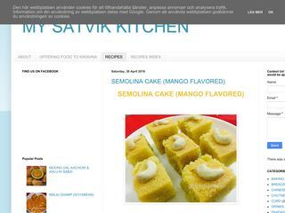 MY SATVIK KITCHEN
