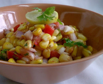 How To Make Corn Chaat (Recipe of Corn Chaat)