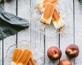 Peach Yoghurt Ice Blocks