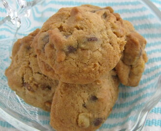 Coffee Walnut Chocolate Chip Cookies