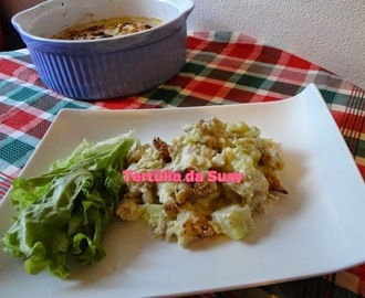 Bacalhau com natas light