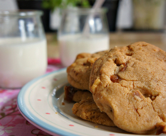 Walnut, Fudge and Fleur de Sel Cookies