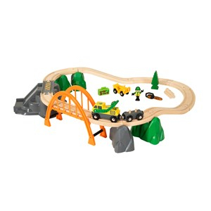 BRIO BRIO World - 33789 Timmerlastbana 3 - 8 years