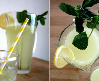 Homemade lemonade // zelfgemaakte citroen limonade