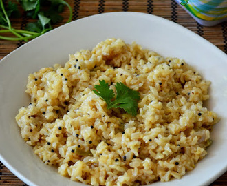 Brown Rice Pilaf - How to Cook Brown Rice - Rice Cooker Method