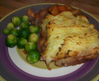 Shepherds Pie Using Leftover Roast Lamb