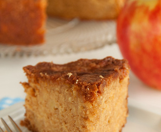 Appel & gembercake met maple syrup
