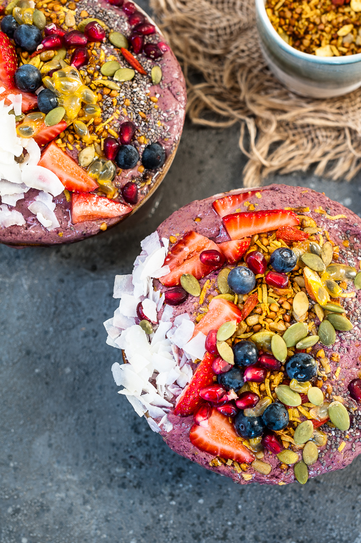 Breakfast Smoothie Bowl