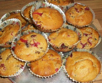 Cranberry Mince Pie Mini Muffins