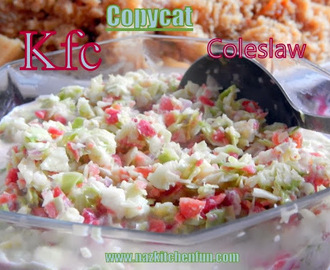 Copycat KFC Coleslaw Quick and Easy