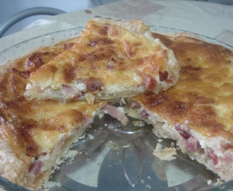 QUICHÉ DE JAMÓN Y BACON