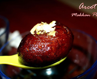 Arcot Makkan Peda....Delicacy of Arcot Nawabs