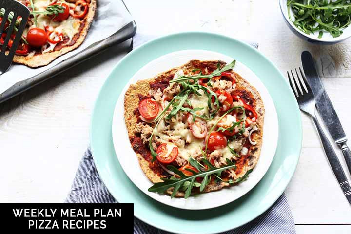 Weekly meal plan: pizza recipes