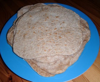 Low-Fat Flatbread Wraps