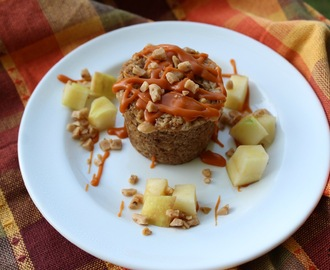 Apple Brickle Mini Tarts w/an Oatmeal Crust /#appleweek