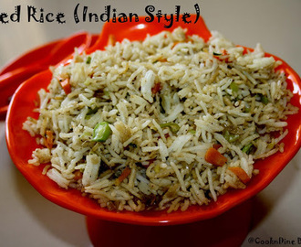 Vegetable Fried Rice (Indian Style)
