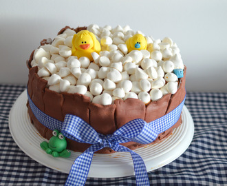 Torta de patitos para Baby Shower ♥