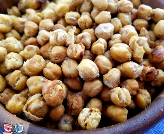 Garlic Roasted Garbanzo Beans