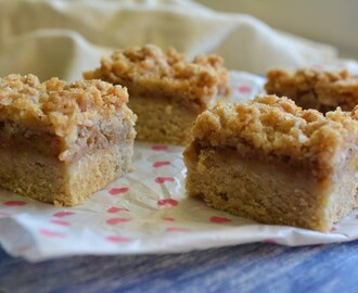 Gluten-free Recipe: Apple Slice with Crumble Topping