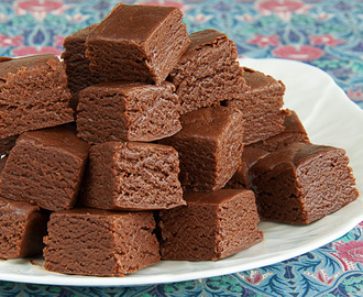 Chocolade - marshmallow fudge