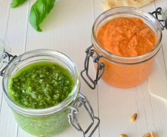Recept Rode Pesto