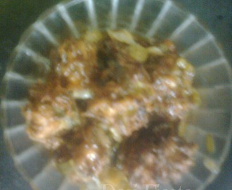 Manchurian Indiyana/ Cabbage Manchurian  (Come on - Lets cook buddies) Entry 56