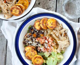 Cuban Salad Bowl