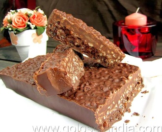 Turron de chocolate