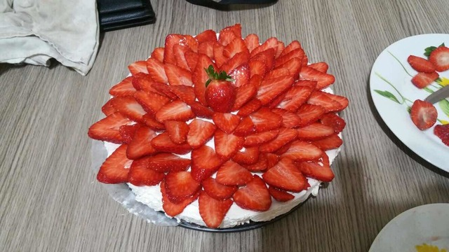 Cheescake fragole