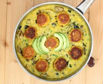 Dal Kofta | Lentil Balls in Curry Sauce