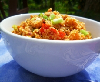 the last gasp of summer and a delicious seasonal salad: kisir (bulgar wheat salad)