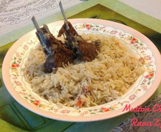 Mutton Chops Pulao