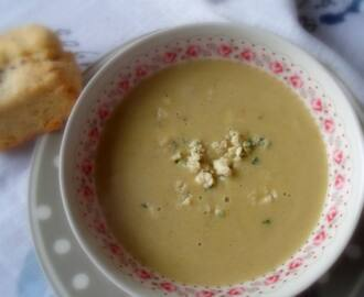 Potato, Leek and Stilton Soup