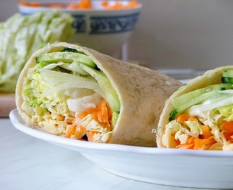 wrap de vegetais / vegetable wrap.
