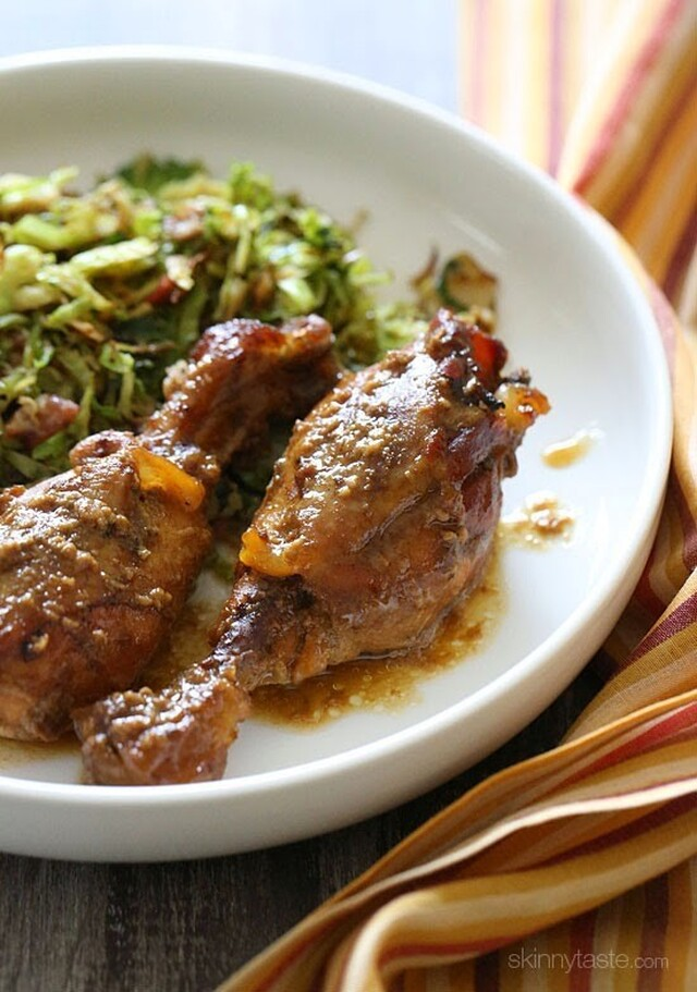 Crock Pot Maple Dijon Chicken Drumsticks