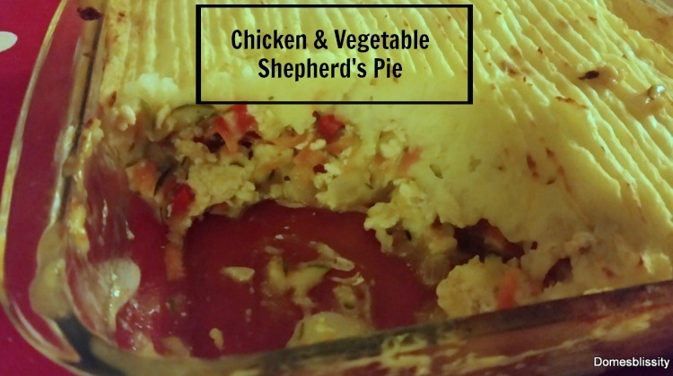 Chicken & Vegetable Shepherd's Pie