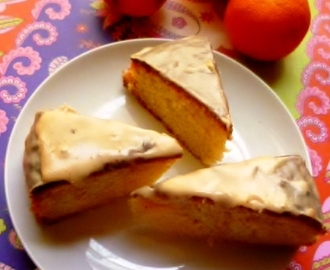 seville orange cake: to celebrate the spring sunshine