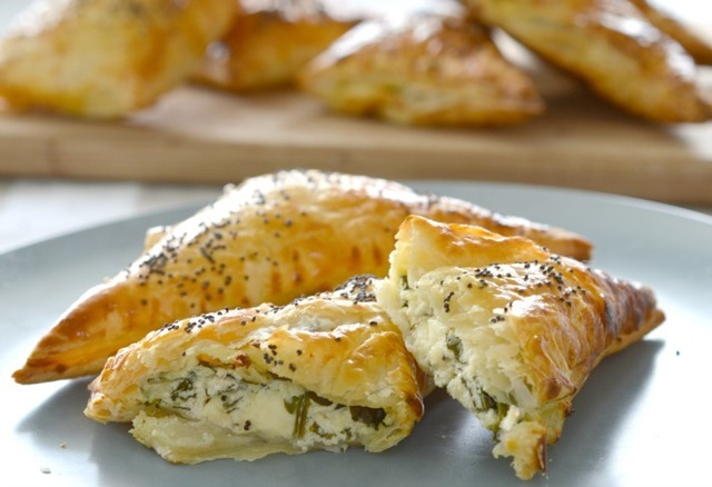Thermomix Spinach and Cheese Parcels