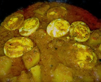 Aloo Anday ka Saalan (Potato and Hard Boiled Egg Curry) #2