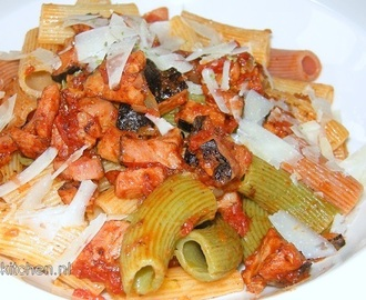 Recept: Rigatoni all' Amatriciana
