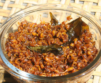 Sprouted Methi pickle / Menthya thokku / Vendhaya thokku