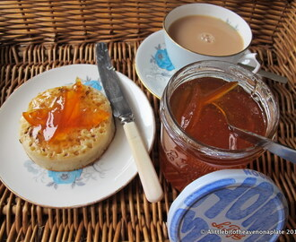 Pink grapefruit and lemon marmalade - recipe